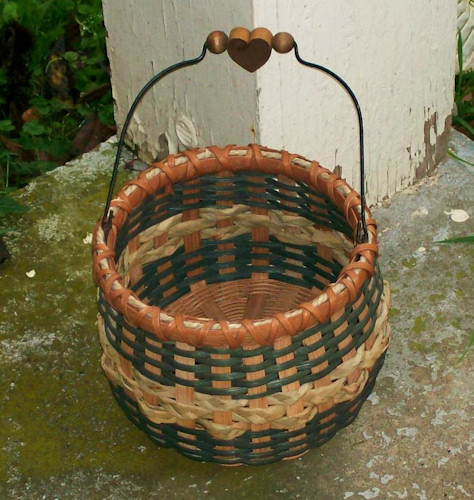 How To Weave A Cattail Basket : Jamit baskets braided cattail beanpot
